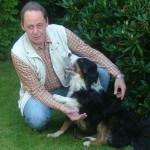 Foto von mobilen Hundetrainer Detlev Schönfelder mit Hund
